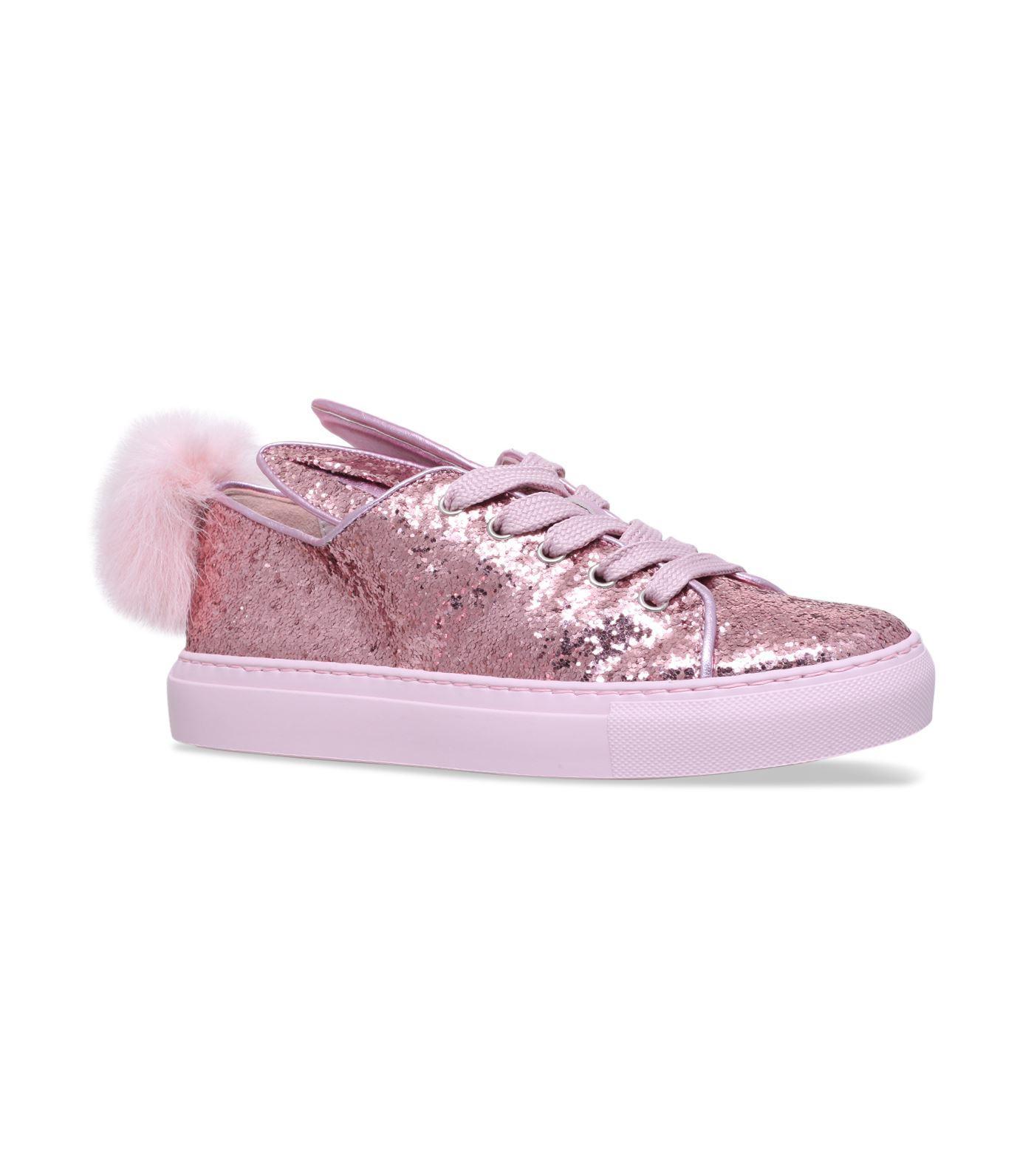 Minna Parikka Glitter Tail Sneakers In Pink
