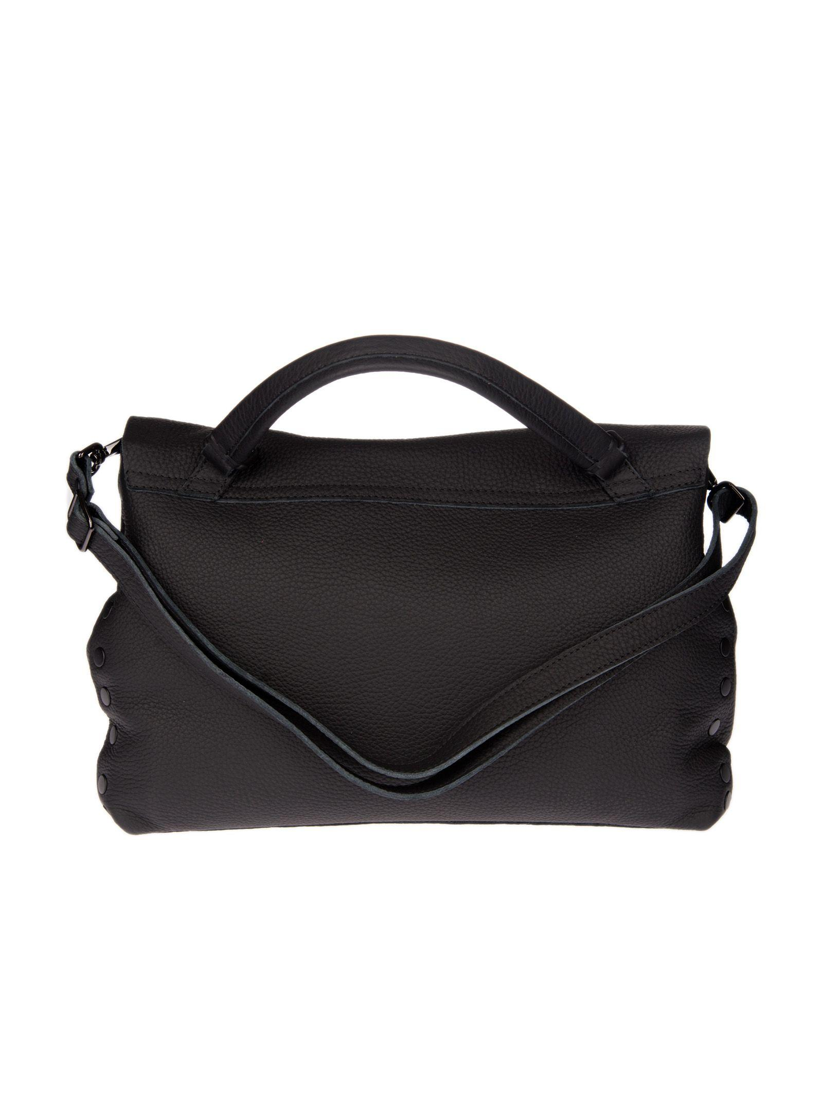 Zanellato Medium Postina Tote In Black