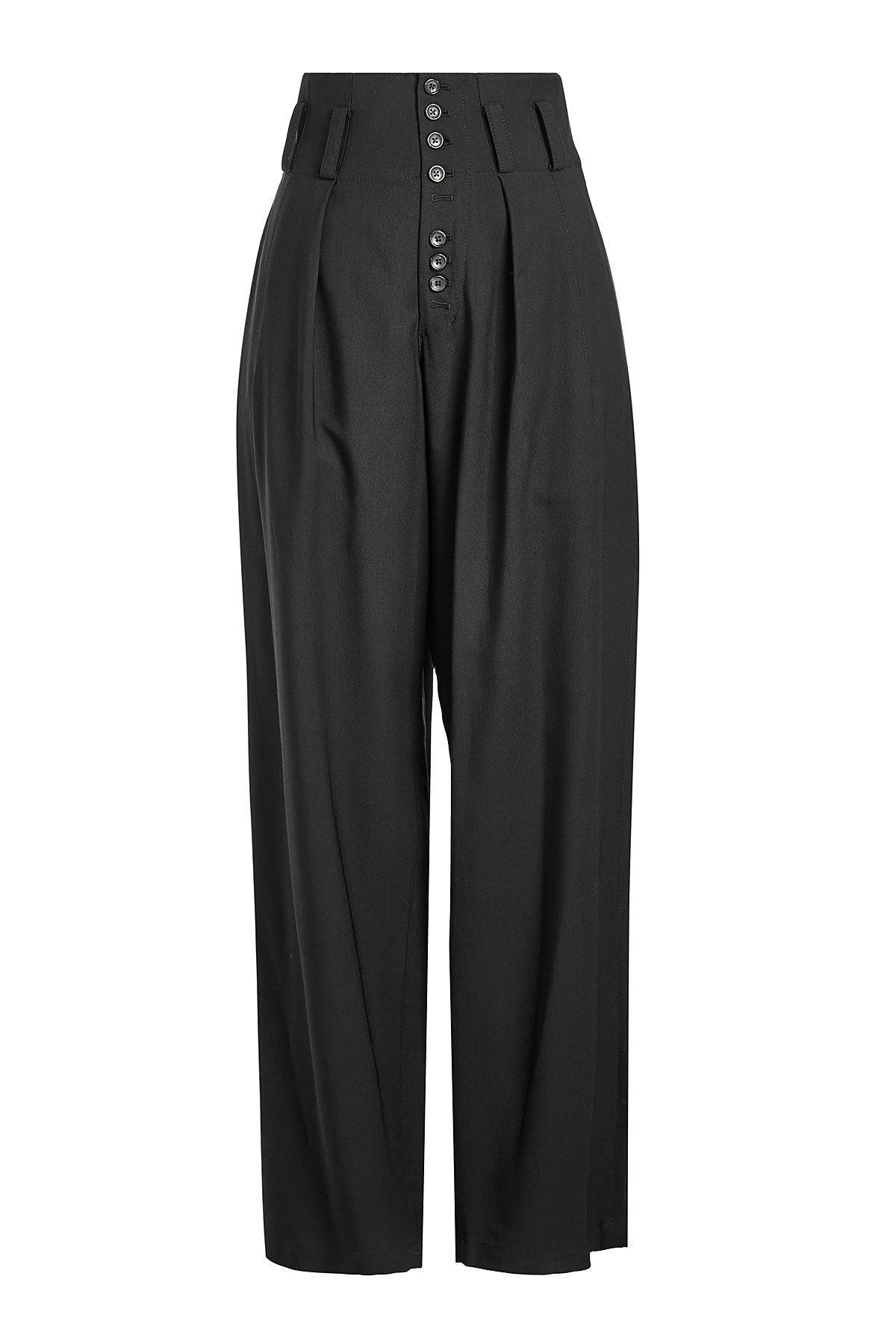 Joseph High-waist Pants In Black