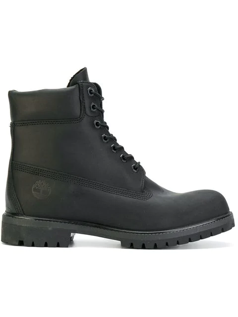 Timberland Lace In Black
