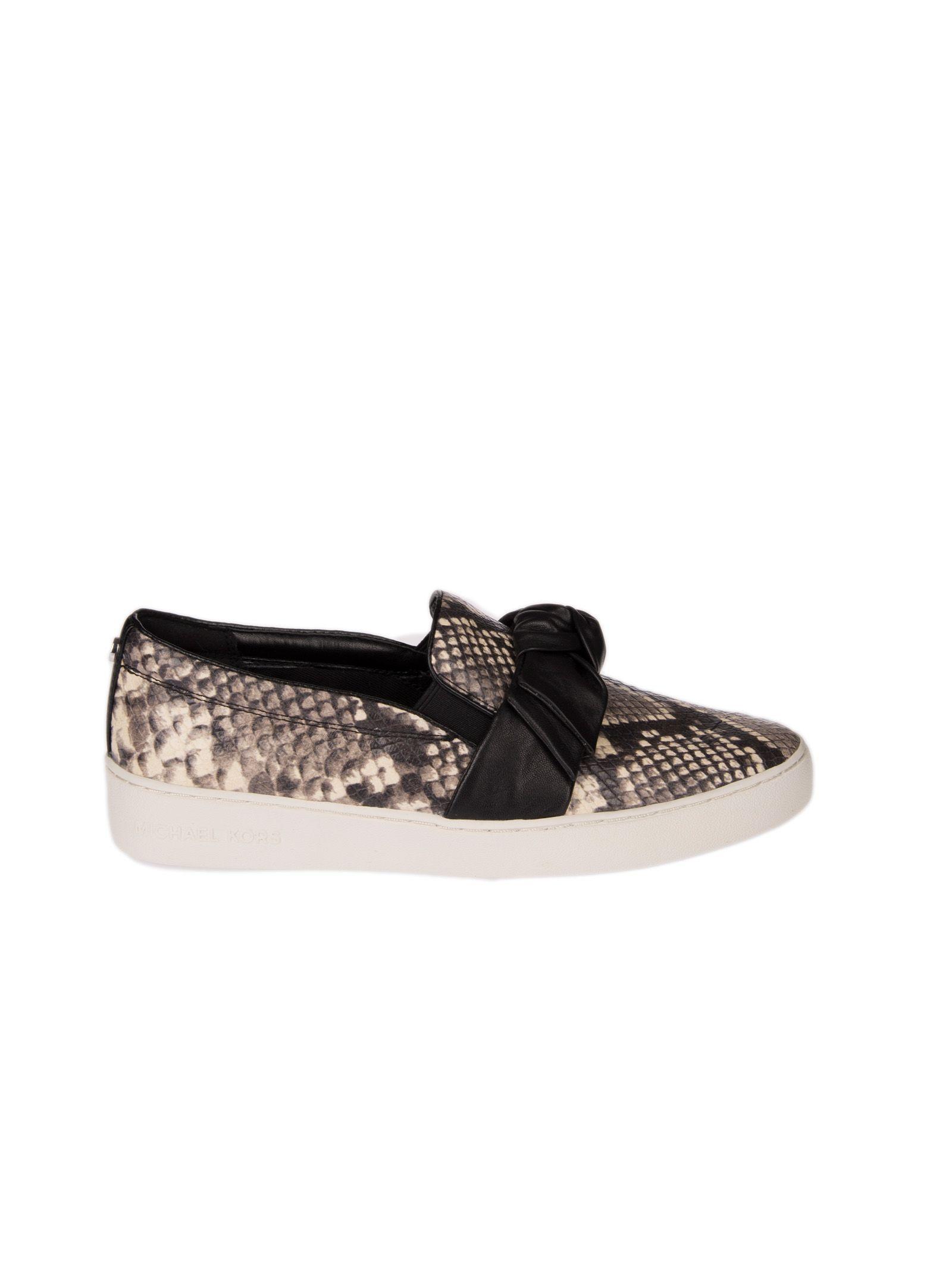Michael Michael Kors Snakeskin Slip-on Sneakers