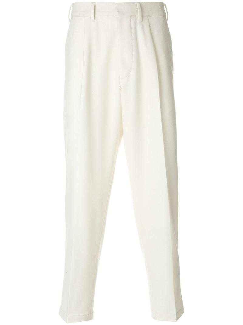The Gigi Straight-leg Pleat Trousers