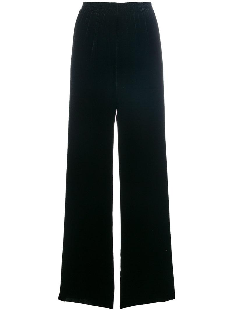 Aries Velvet Wide Leg Pants