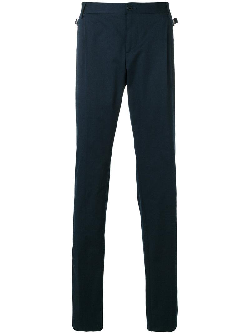 Versace Medusa Detail Tailored Trousers