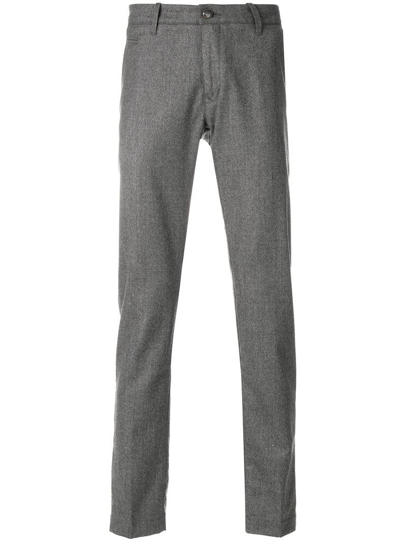 Jacob Cohen Slim Fit Tailored Trousers - Grey