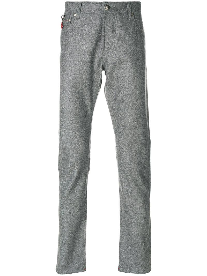 Isaia Straight-leg Suit Trousers