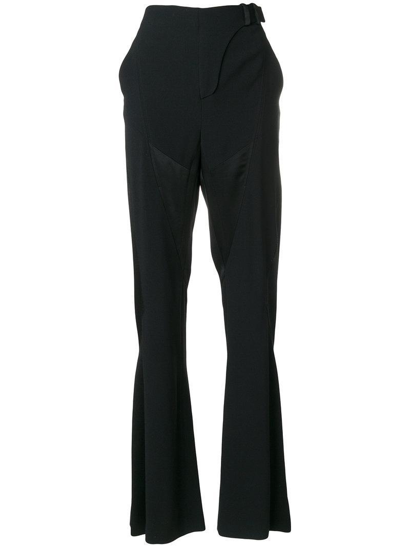 Versace Flute Cuff Trousers