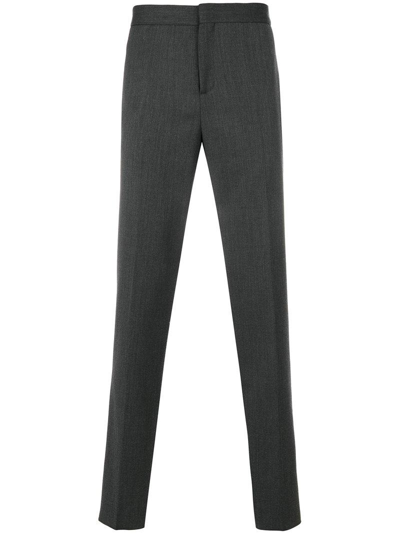 Neil Barrett Pleated Trousers - Grey