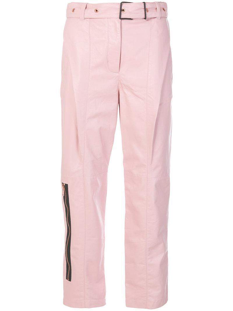 Proenza Schouler Zip Detail Trousers