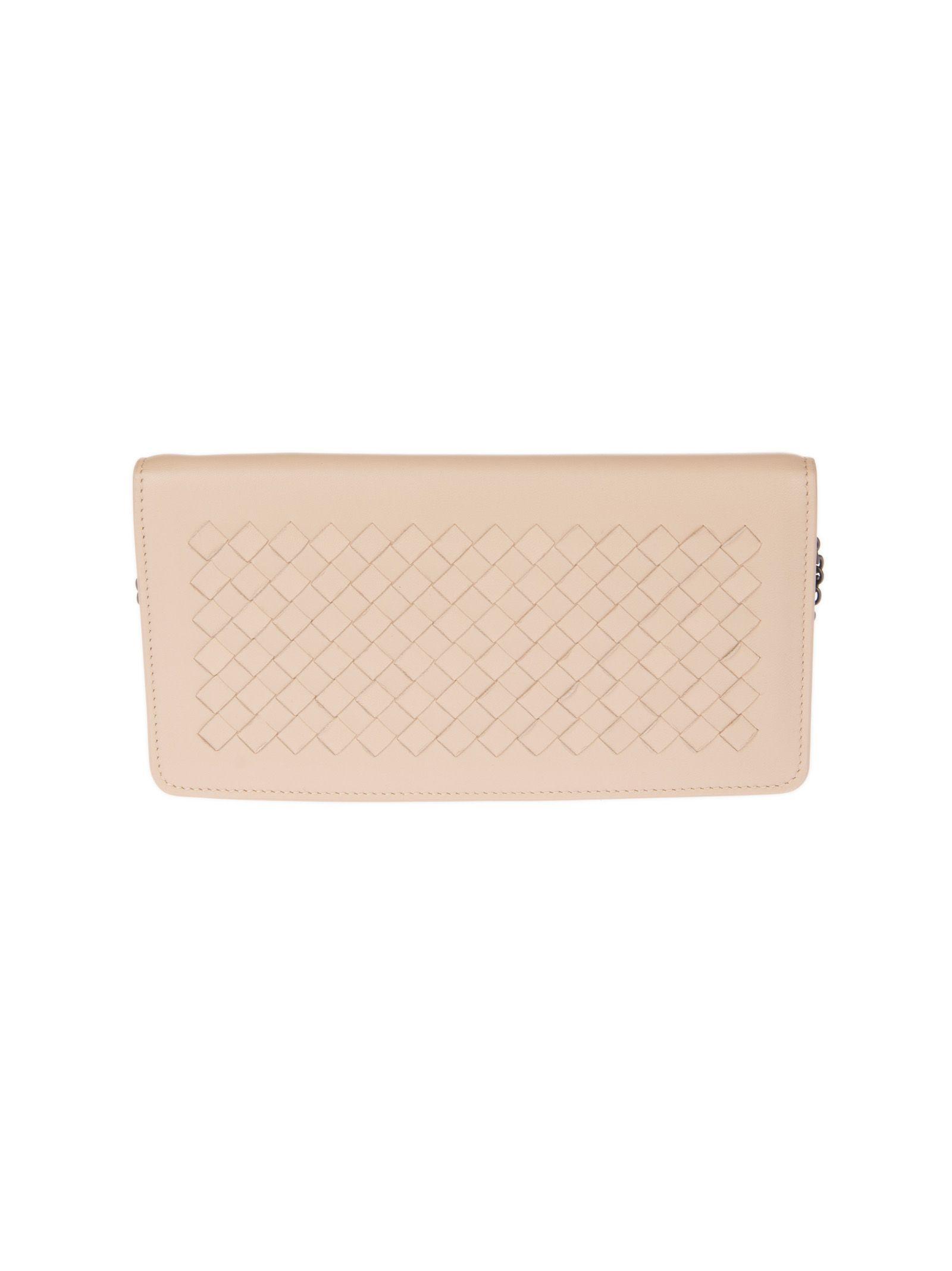 Bottega Veneta Braided Continental Wallet