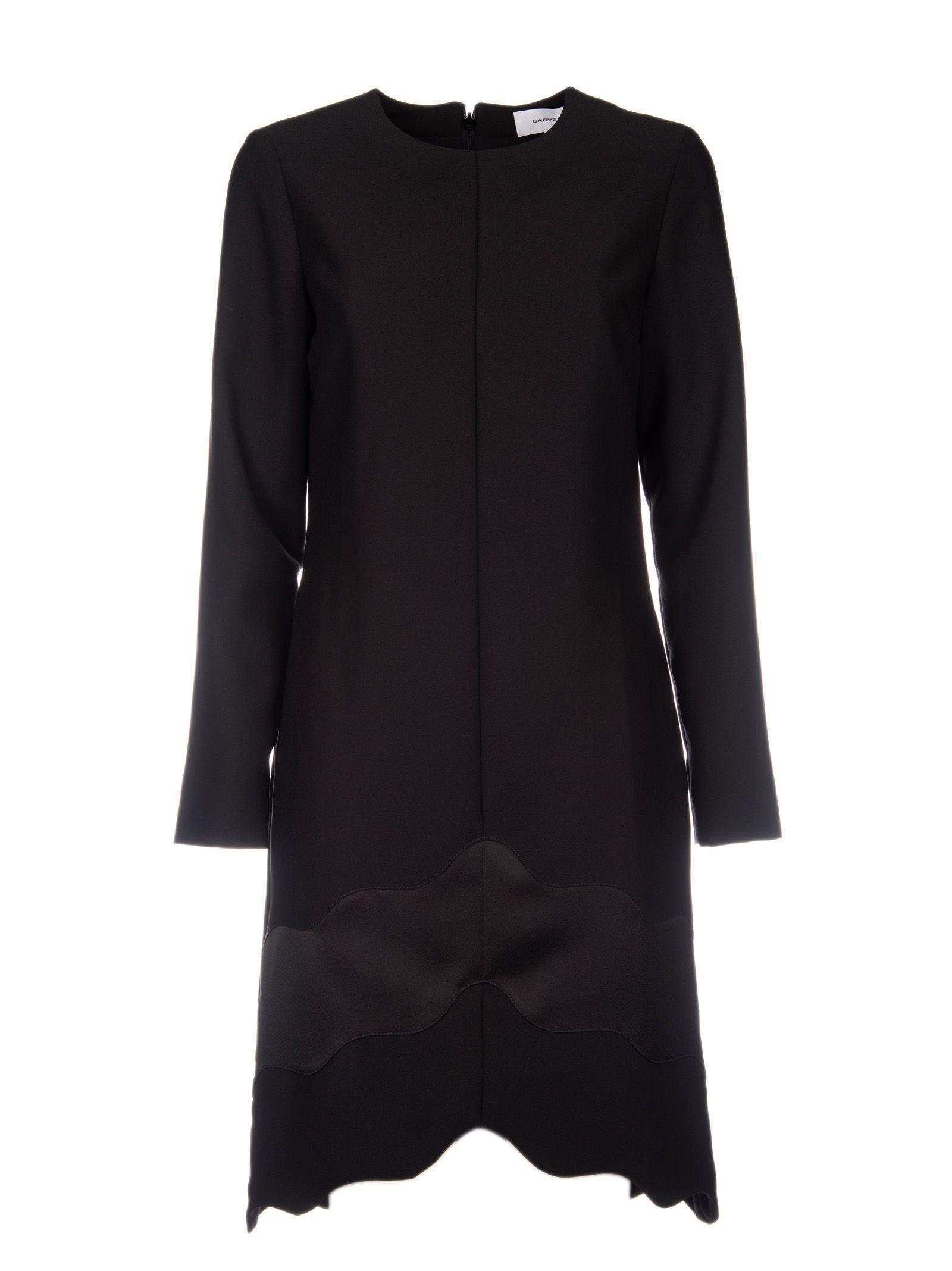 Carven Cady Dress In Black