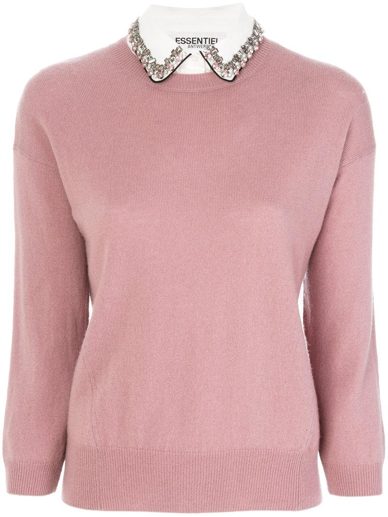 Essentiel Antwerp Classic Knitted Sweater