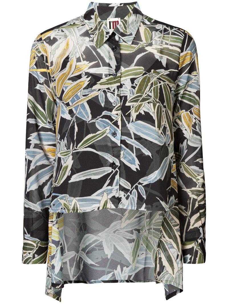 I'm Isola Marras Floral Long Sleeved Shirt