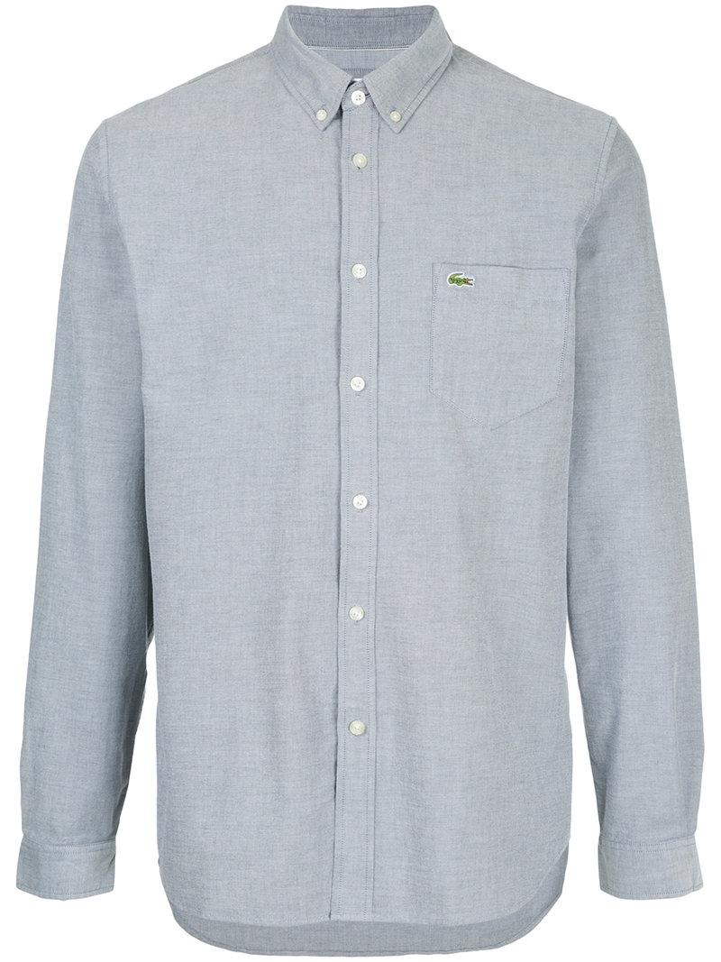 Lacoste Straight-fit Oxford Shirt