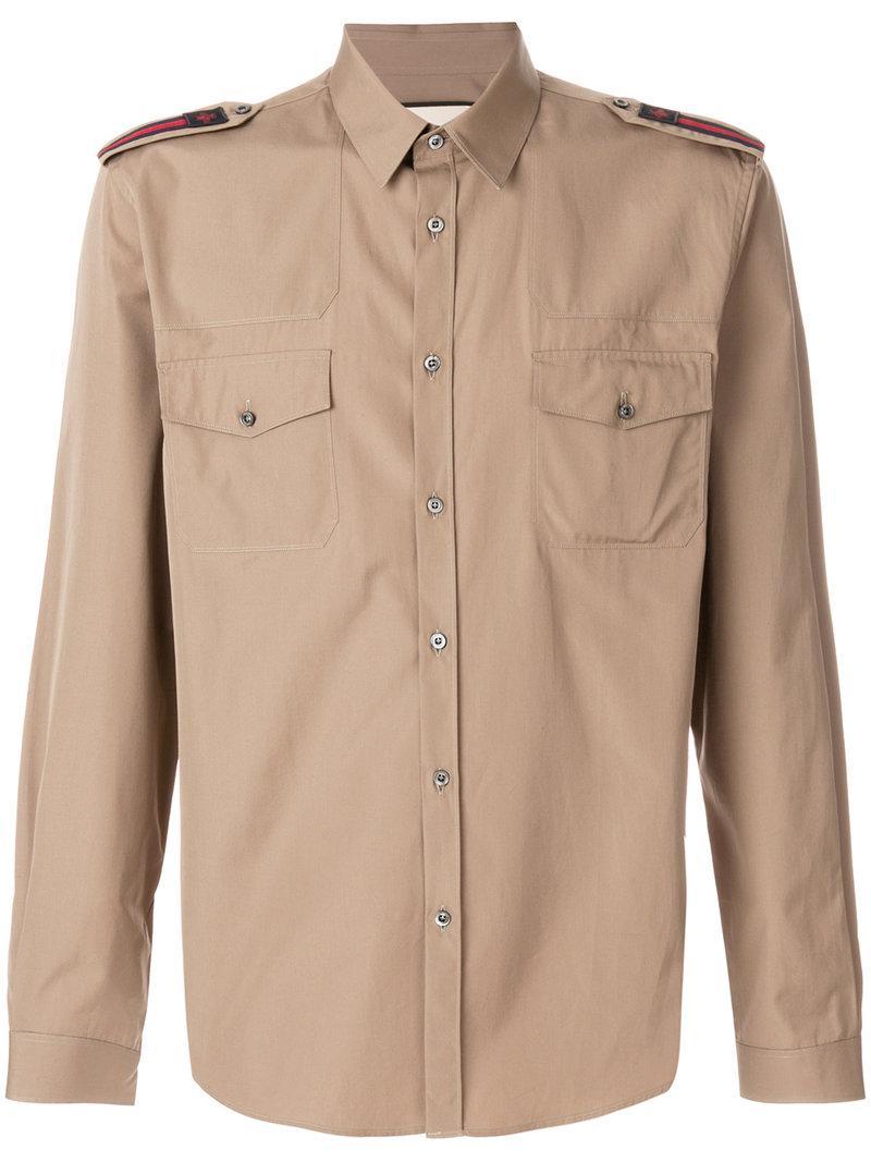 Gucci Military Shirt