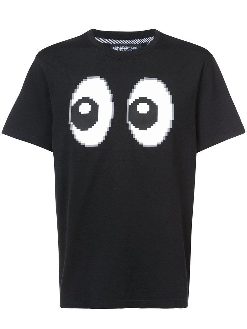 Mostly Heard Rarely Seen 8-bit All Eyes On Me T-shirt - Black