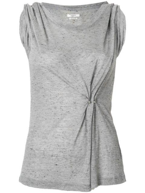 Etoile Isabel Marant Isabel Marant Étoile Ring Detail Tank Top - Grey