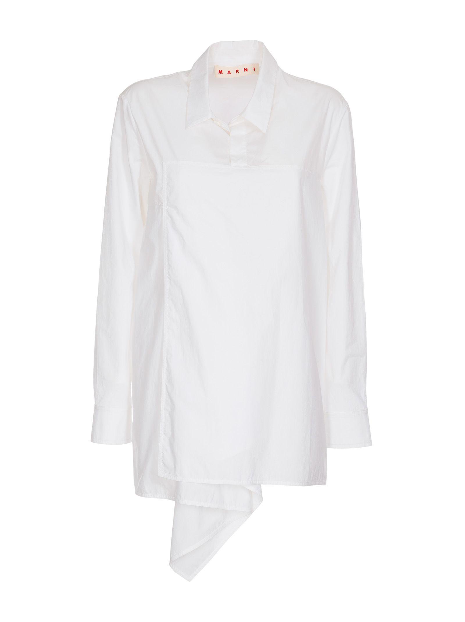 Marni Classic Shirt In White