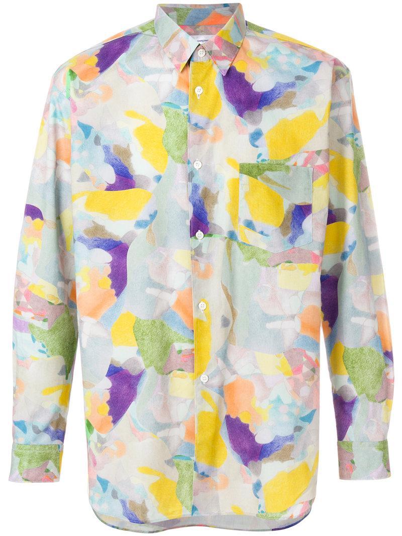 Comme Des GarÇons Shirt Multicolour