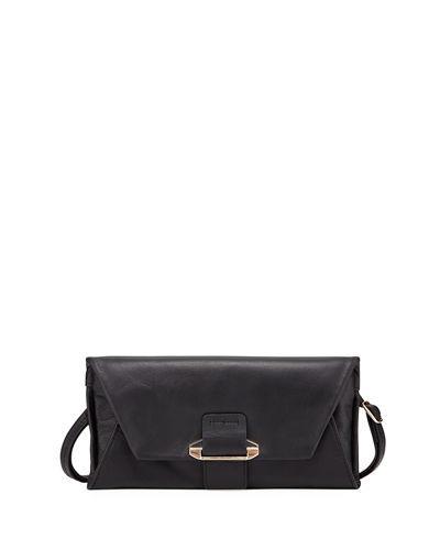Kooba Ruby Crossbody Wallet In Black
