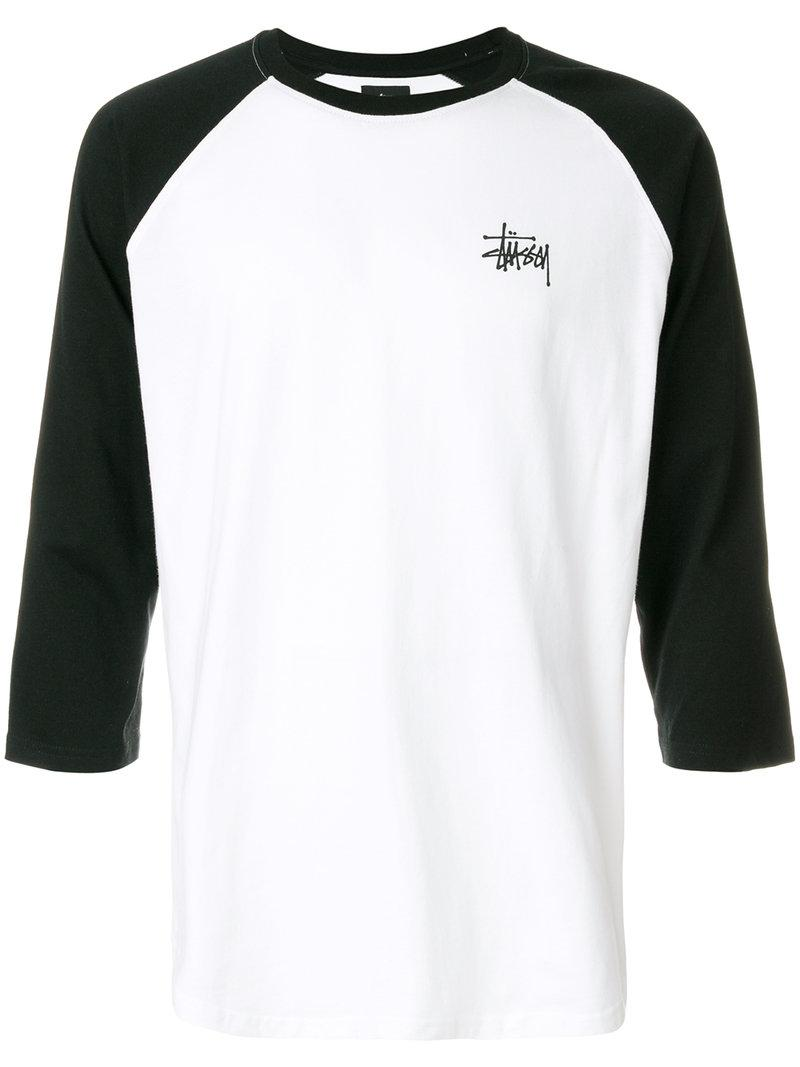 Stussy Contrast Sleeve Top