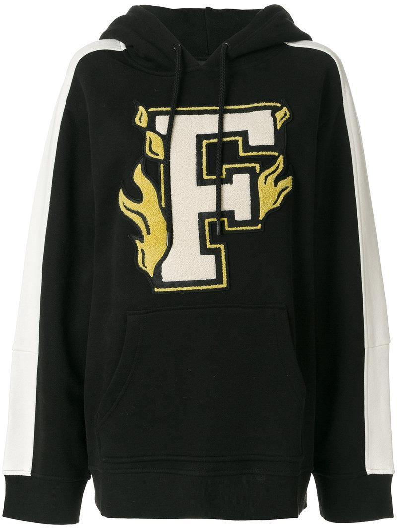 Fenty X Puma Logo Hoody In Black