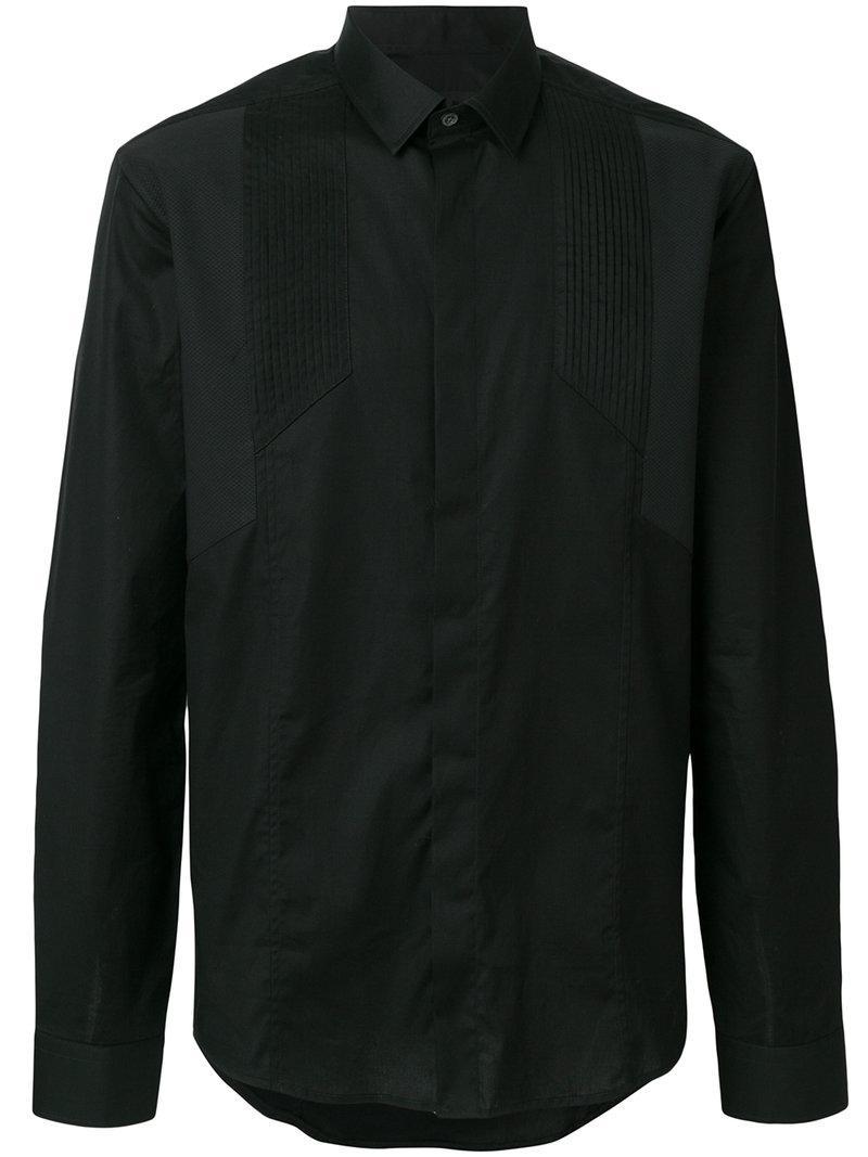 Les Hommes Plain Shirt