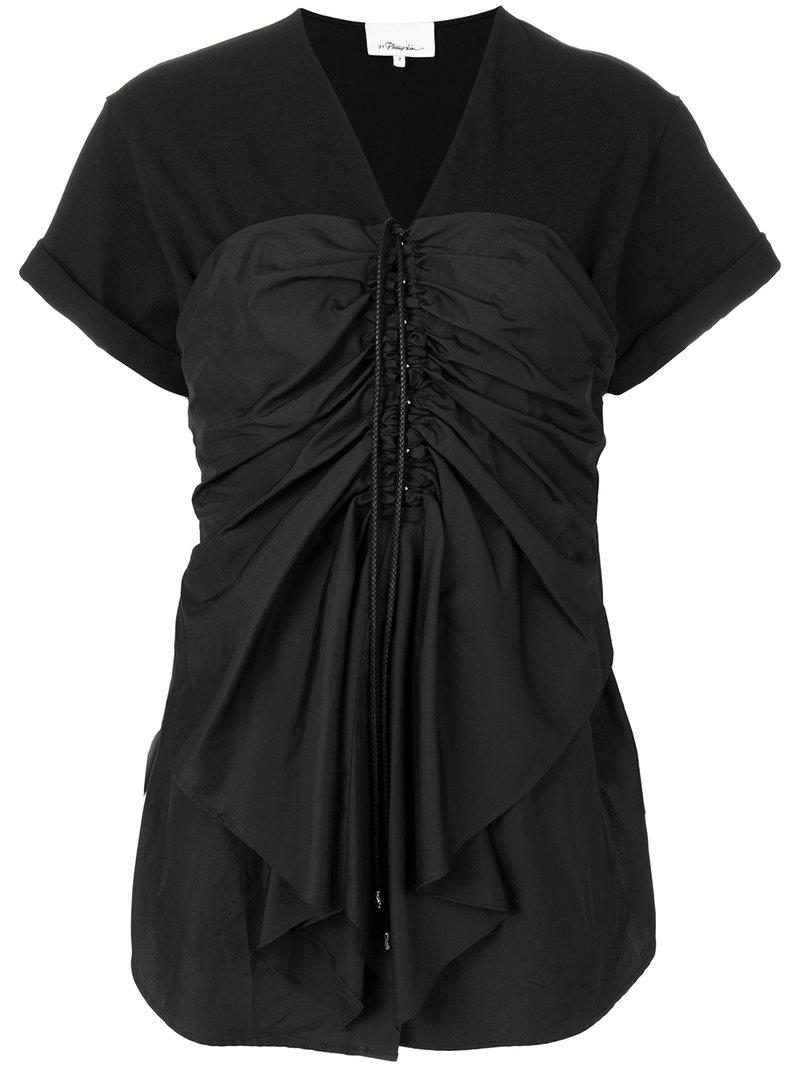 3.1 Phillip Lim Frill-trim Fitted Blouse