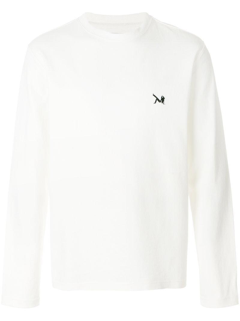 Calvin Klein 205w39nyc Crewneck Embroidery Sweatshirt