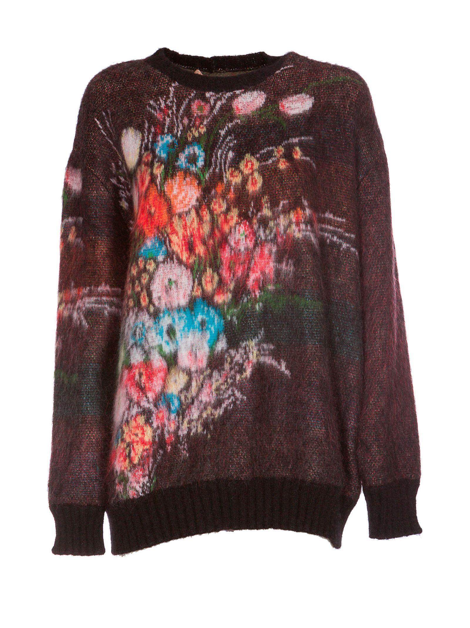 N°21 No21 Floral Print Sweater