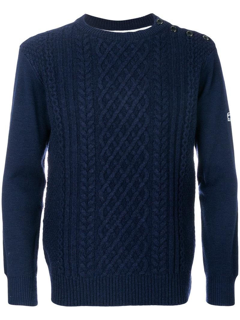 G-star Contrast Back Sweater