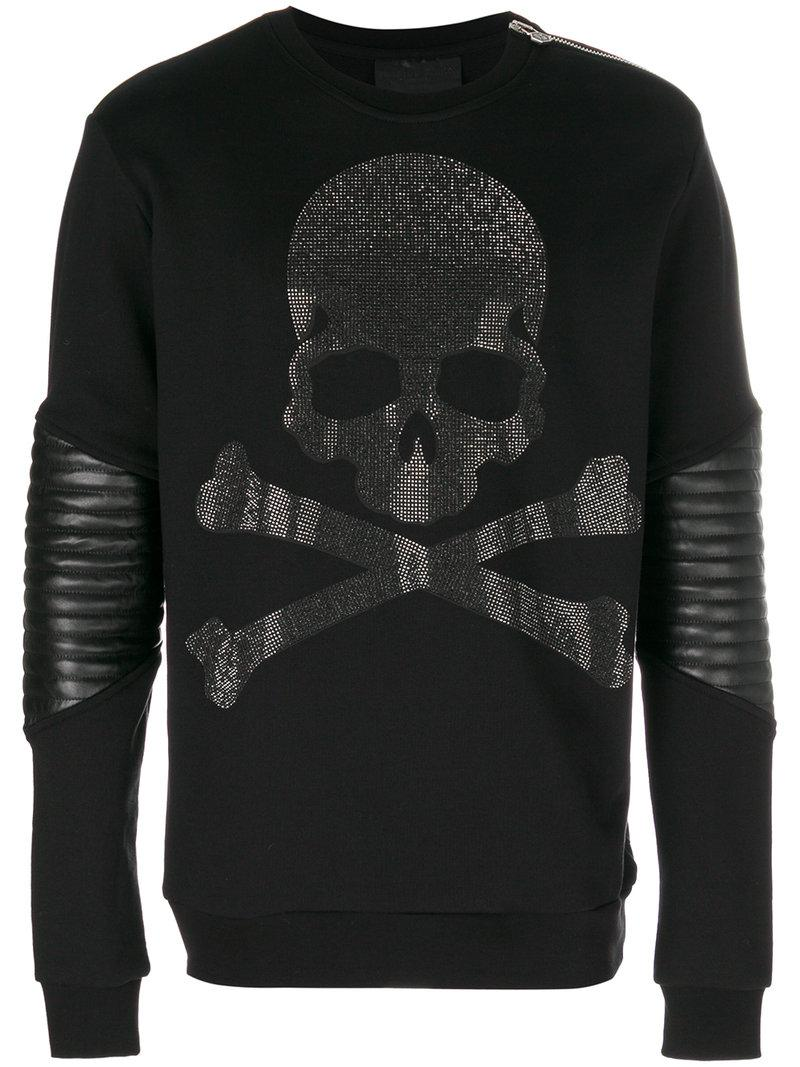 Philipp Plein Pre Sweatshirt In Black