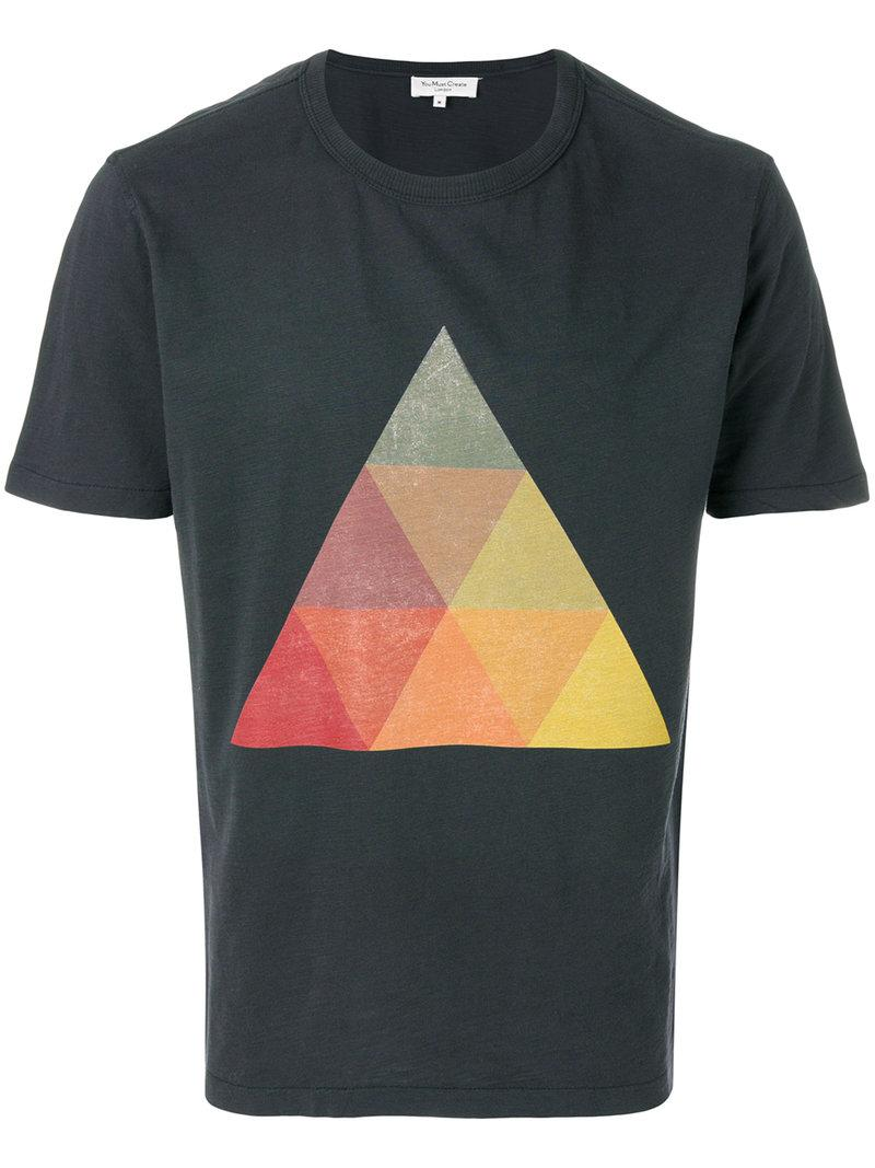 Ymc You Must Create Albers Triangle T-shirt