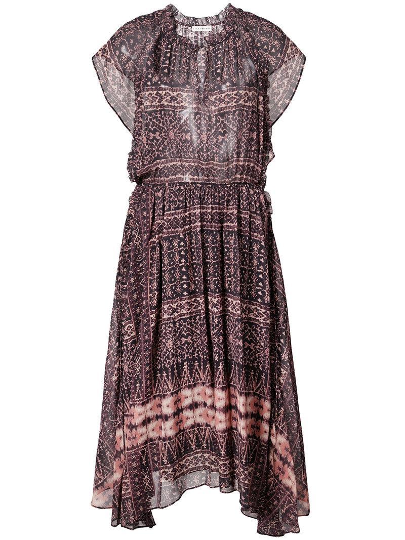 Ulla Johnson Patterned Peasant Dress