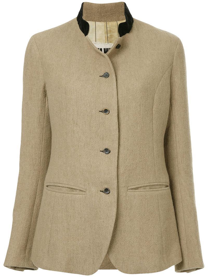 Uma Wang Button Down Jacket