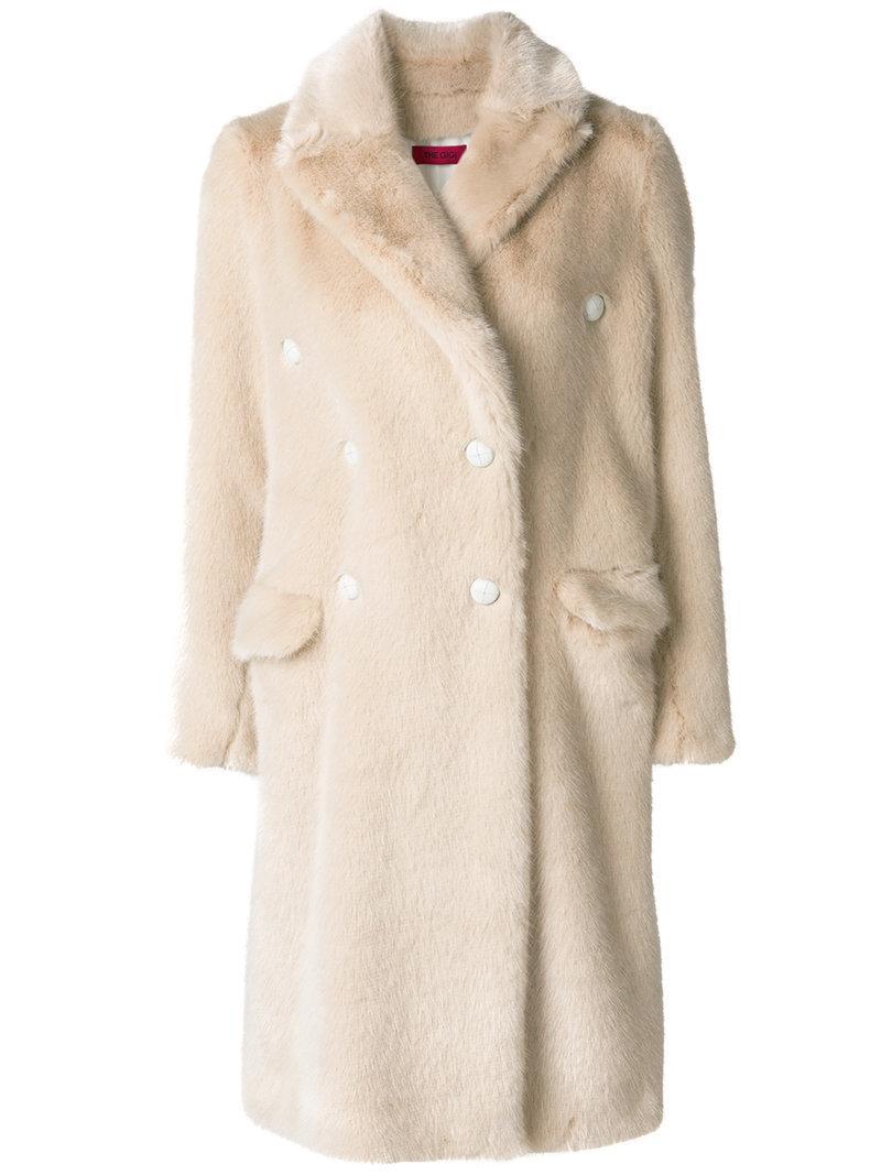 The Gigi Loose Fit Furry Coat