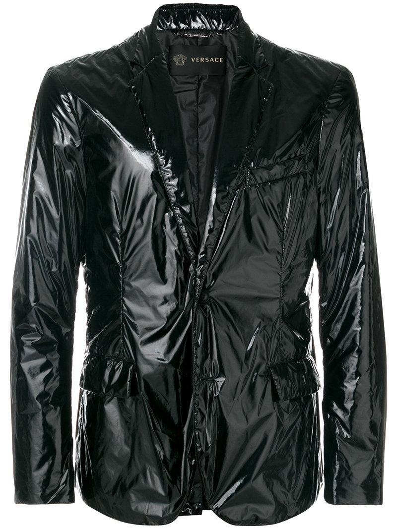 Versace Patent-look Blazer