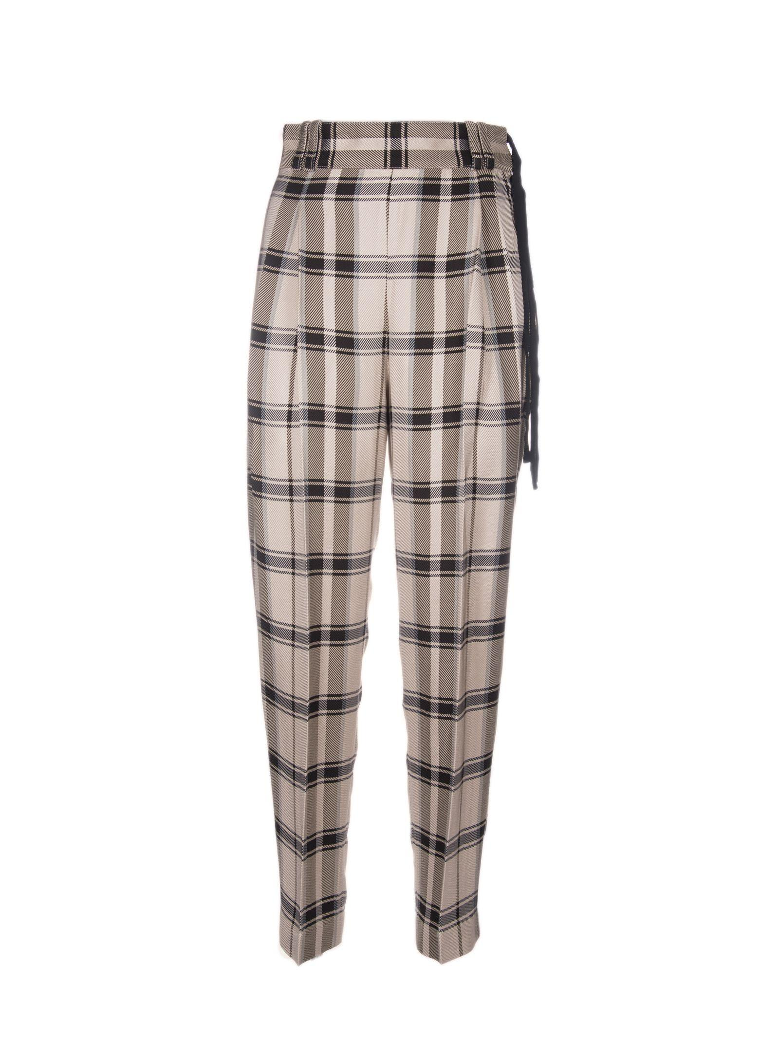3.1 Phillip Lim Check Trousers