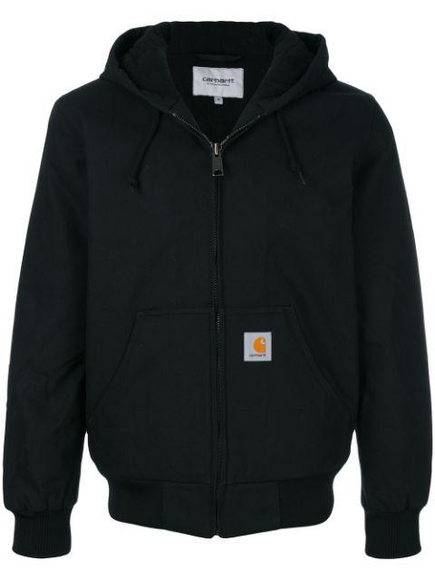 Carhartt Zipped Hoodie - Black