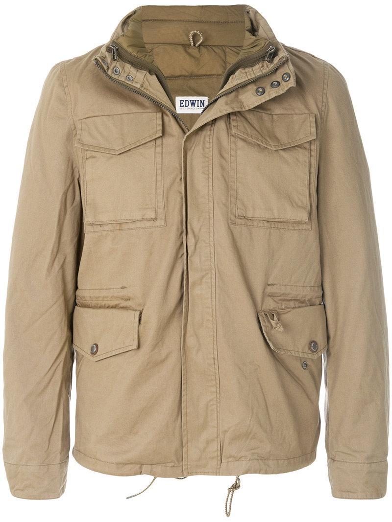 Edwin Zipped Padded Jacket