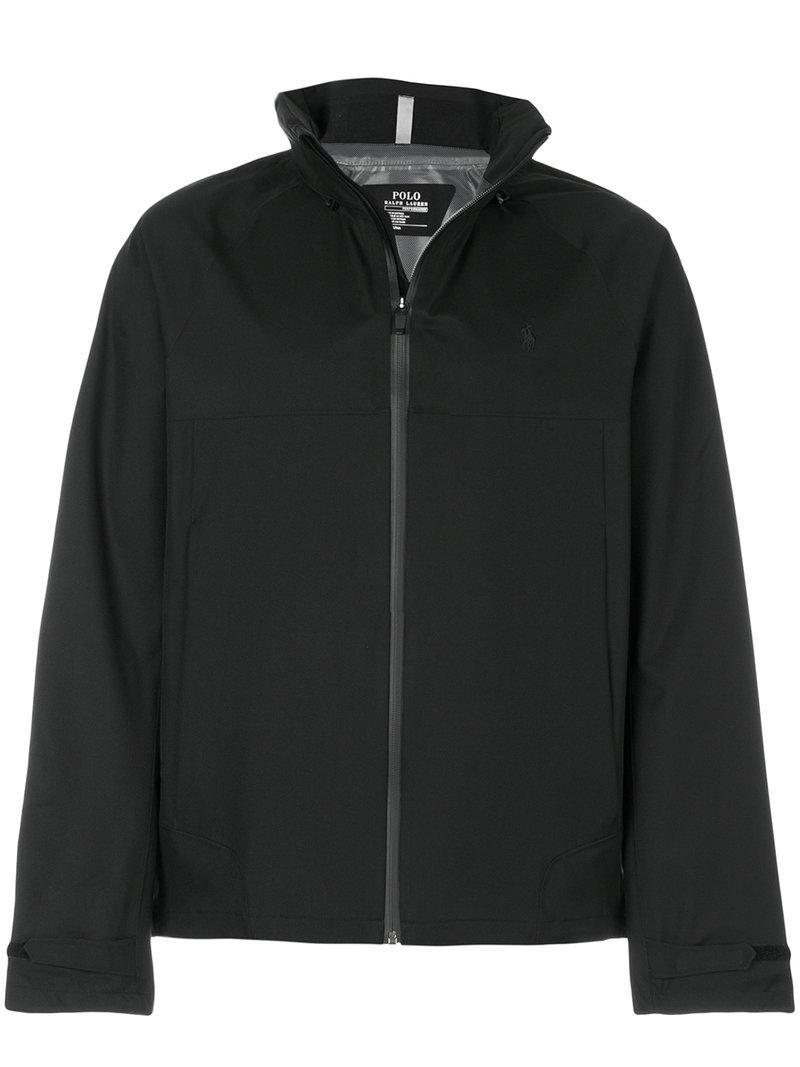 Polo Ralph Lauren Waterproof Lightweight Jacket - Black