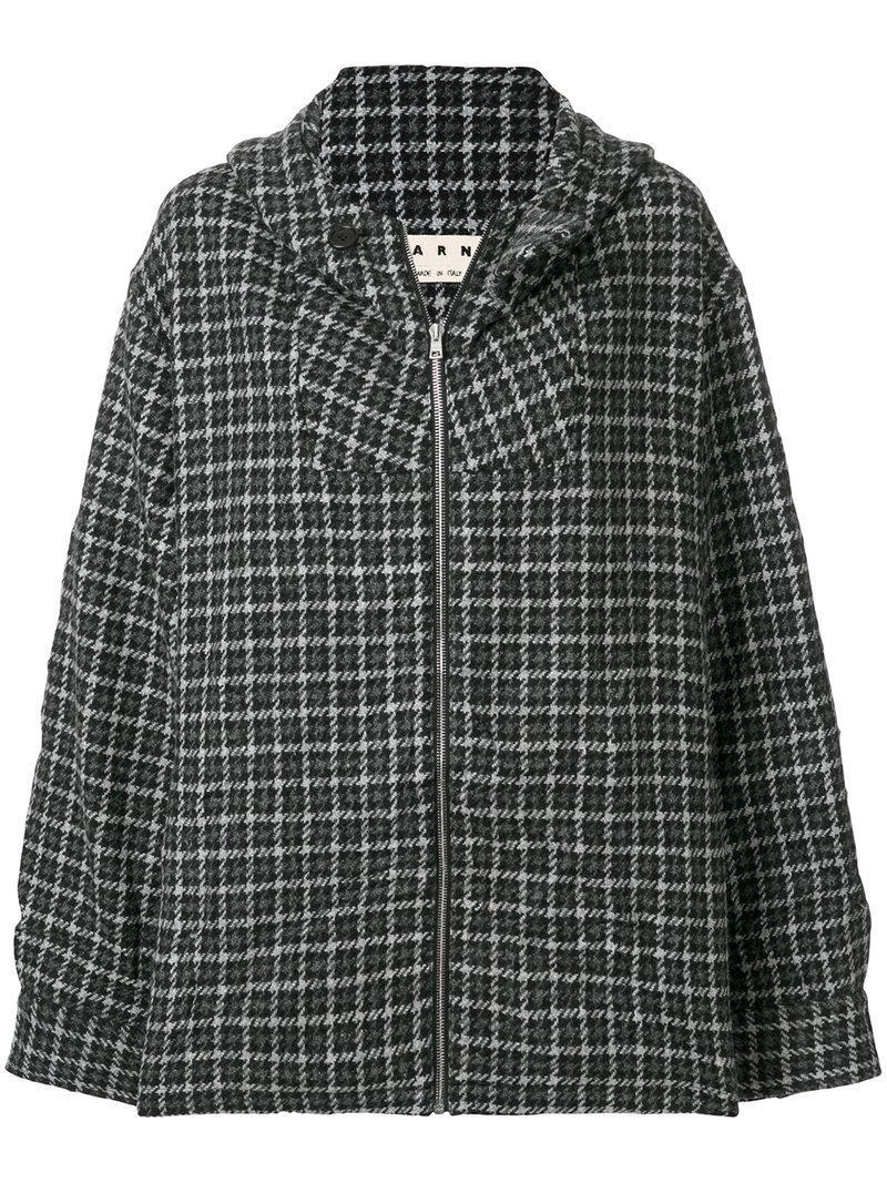Marni Front Zipped Jacket