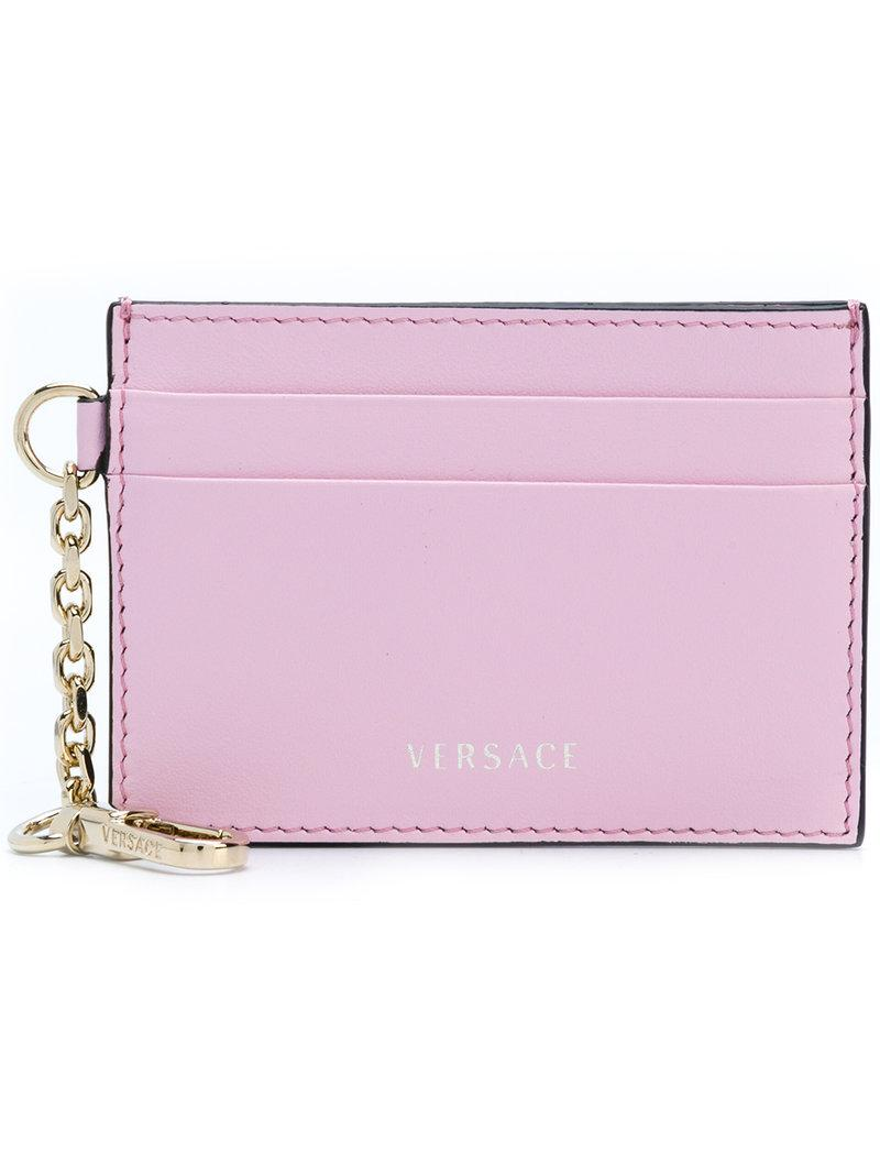 Versace Chain Card Case