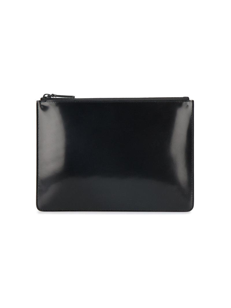 Common Projects Small Folio Pouch In Black