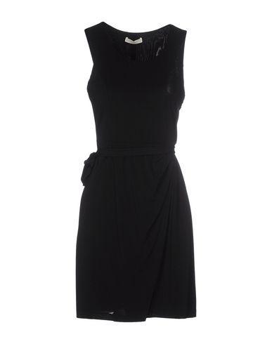 Scervino Street Short Dresses In Black