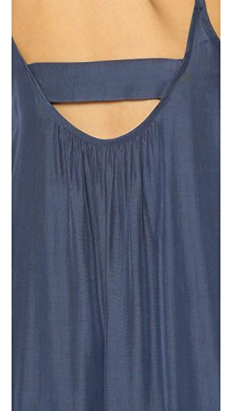 One By Pink Stitch One By Resort Maxi Dress In Midnight