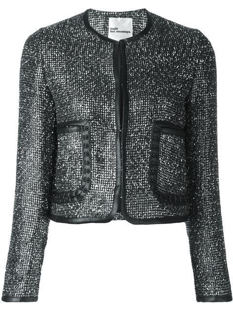 Comme Des GarÇOns Shimmering Jacket