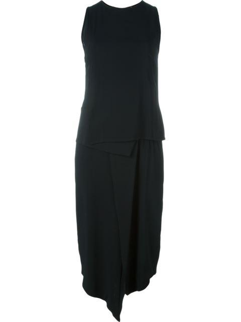 Minimarket Costa Asymmetric Dress In Black