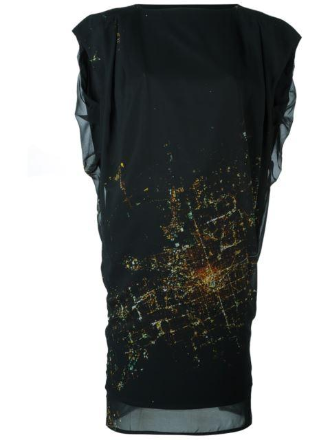 Minimarket Zany Dress In Black