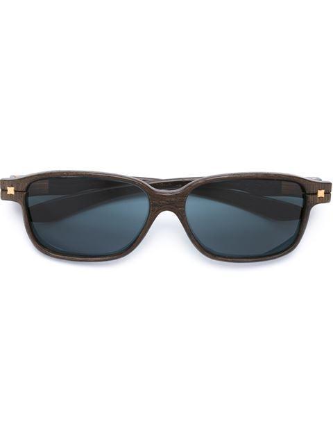 Herrlicht Rectangular Frame Sunglasses - Brown
